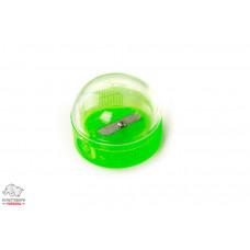 Точилка Economix одинарная пластиковая с контейнером Арт. Е40615