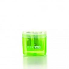 Точилка Economix пластиковая с контейнером 2 лезвия Арт. Е40611