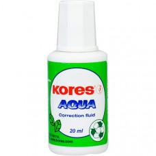 Корректор Kores Aqua на водной основе 20 мл с кисточкой Арт. К69101