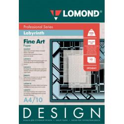 Дизайнерская бумага Lomond Лабиринт А4 глянцевая односторонняя 200 г/м2 10 листов Арт. 0924041