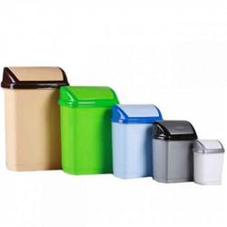 Ведро для мусора 9 л Домик Горизонт Арт. 26209