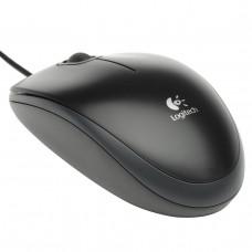 Мышь компьютерная Logitech B100 USB черная оптическая Арт. 910-003357
