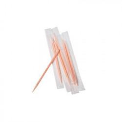 Зубочистки барные Linpac с мятой в полимерной индивидуальной упаковке 50 штук Арт. 10822