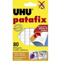 Клеящие подушечки UHU Patafix белые 80 штук Арт. 39125