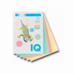 Бумага цветная офисная IQ А4 80 г/м2 250 листов 5 цветов пастель Арт. RB01