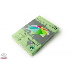 Бумага цветная офисная Spectra Color Green 190 А4 75 г/м2 500 листов зеленая Арт. 164071