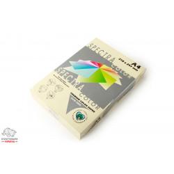 Бумага цветная офисная Spectra Color Ivory 100 А4 75 г/м2 500 листов слоновая кость Арт. 164064
