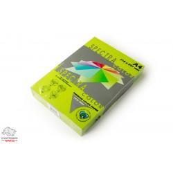 Бумага цветная офисная Spectra Color Green 321 А4 75 г/м2 500 листов неоновый зеленый Арт. 164415