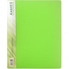 Папка с прижимом Axent А4 Clip B пластик цвет салатовый Арт. 39666 1301-26-A