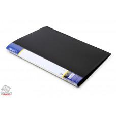Папка с прижимом Economix А4 Clip B Light пластик цвет ассорти Арт. E31208