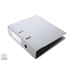 Папка-регистратор 7,5 см Люкс Donau А4 цвет серый Арт. 3975001PL-13