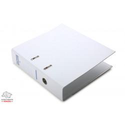 Папка-регистратор 7,5 см Люкс Donau А4 цвет белый Арт.3975001PL-09