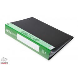 Дисплей-книга 100 файлов 4Office А4 пластиковая цвет ассорти Арт. РР 4-228 03060580