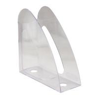 Лоток для бумаг вертикальный Delta by Axent пластик прозрачный Арт. D4014-27