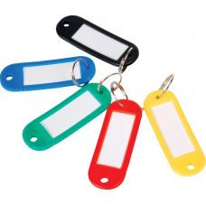Брелок для ключей Economix пластиковый цветной Арт. E41637