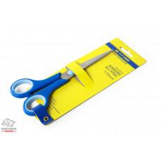 Ножницы BuroMax 17,5 см стальные ручки с резиновыми вставками Арт. BM.4504
