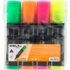 Набор маркеров текстовых Delta by Axent 4 цвета 1-5 мм Арт. D2501