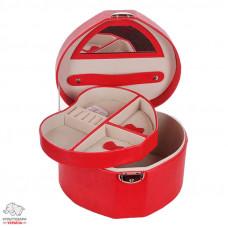 Бокс для украшений Solo Massima цвет красный Арт. SM 0818/04