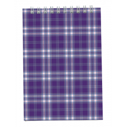 Блокнот BuroМax А6 верхняя спираль 48 листов карт. обложка Арт. BM.2480-07