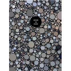 Блокнот А4 96 листов клетка боковая спираль мягкая картонная обложка Иллюзия Арт. 1В1030