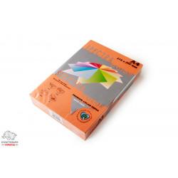 Бумага цветная офисная Spectra Color Saffron 240 А4 80 г/м2 500 листов оранжевая Арт. 161495