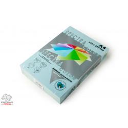 Бумага цветная офисная Spectra Color Ocean 120 А4 160 г/м2 250 листов голубая Арт. 164446