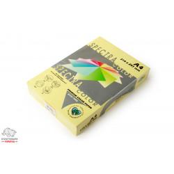 Бумага цветная офисная Spectra Color Canary 115 А4 80 г/м2 500 листов желтый канареечный Арт.164399