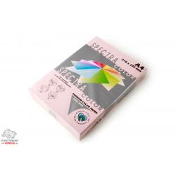 Бумага цветная офисная Spectra Color Rose 140 А4 80 г/м2 500 листов светло-розовая Арт. 164402