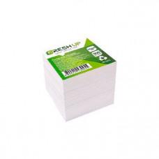 Блок бумаги для заметок непроклеенный Fresh Up 9х9 см 900 листов белый Арт. FR-1611