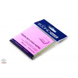 Бумага для заметок с клейким слоем Economix 75х75 мм 100 листов радуга неон Арт. E20948