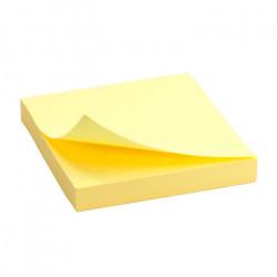 Блок бумаги с липким слоем Delta by Axent 75х75 мм 100 листов желтый Арт. D3314-01