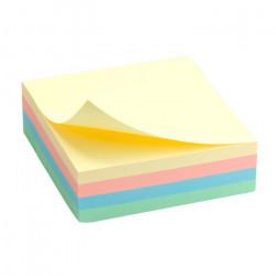 Блок бумаги с липким слоем Delta by Axent 75х75 мм 250 листов ассорти пастель Арт. D3350