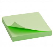 Блок бумаги с липким слоем Delta by Axent 75х75 мм 100 листов зеленый Арт. D3314-02
