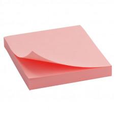 Блок бумаги с липким слоем Delta by Axent 75х75 мм 100 листов розовый Арт. D3314-03