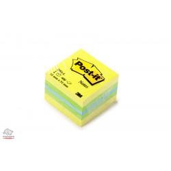 Бумага для заметок с клейким слоем 3М Post-it 51х51 мм 400 листов Лимон Арт. 2051-L