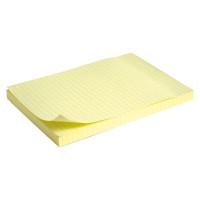 Бумага для заметок с липким слоем Delta by Axent 100x150 мм 100 листов в клетку Арт. D3330-02
