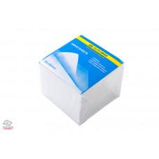 Блок бумаги для заметок непроклеенный BuroMax 9х9х7 см белый Арт. BM.2218