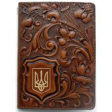 Обложка для паспорта Privilege натуральная кожа Арт. ОП-4