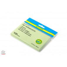 Бумага для заметок с клейким слоем BuroMax 127х76 мм 100 листов ассорти Арт. BM.2314-99