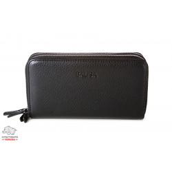 Кошелек кожаный MiC черный Арт. 17423