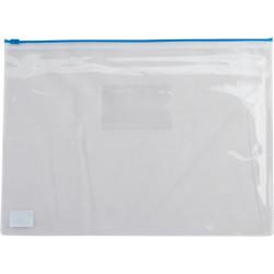 Конверт на молнии BuroMax А5 пластик прозрачный Арт. BM.3947-02, 05