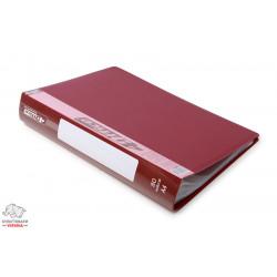 Дисплей-книга 80 файлов 4Office А4 пластиковая цвет ассорти Арт. РР 4-227