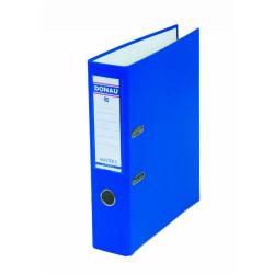 Папка-регистратор 7 см Donau Master 2R А4 картон цвет синий Арт. 3970001М-10,17