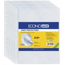 Файл Economix А4 40 мкм прозрачный /в упак.100 штук/ Арт. Е31107