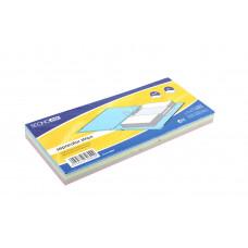 Разделительные полоски картонные Economix размер 105х240 мм 100 штук Арт. Е30809