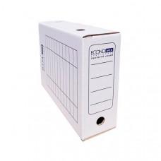 Папка-бокс для архивации Economix ширина 10 см гофрокартон белый Арт. Е32704-14