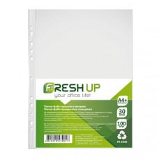 Файл Fresh Up А4+ прозрачный 30 мкм /в упак.100 штук/ Арт. FR-2030