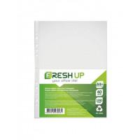 Файл Fresh Up А4+ прозрачный 40 мкм /упак. 100 шт/ Арт. FR-2035