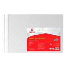 Файл Optima А3 40 мкм горизонтальный в упаковке 50 штук (035113)