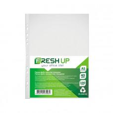 Файл Fresh А5 40 мкм прозрачный глянцевый /в упак. 100 штук/ Арт. 600416